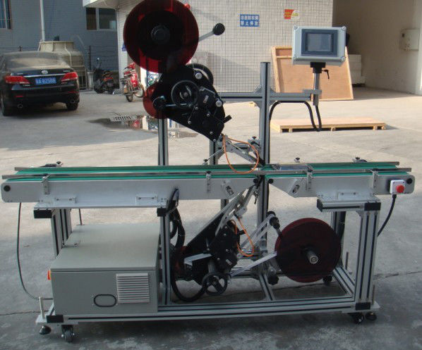 آلة لصق علوية عالية الكفاءة مع ناقل الحزام المقسم