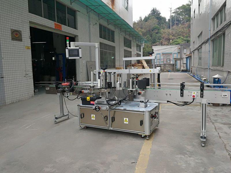 الصين ثلاثة جوانب التلقائي آلة وسم زجاجة مربعة الكهربائية مدفوعة نوع المورد