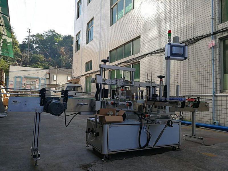 الصين لاصق جانب واحد شقة زجاجة آلة وسم عالية الدقة المورد